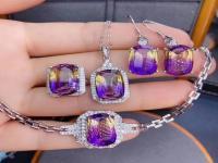紫黄晶是怎么形成的?紫黄晶的功效和作用。