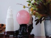 粉水晶球的价格!粉水晶球为什么这么贵!