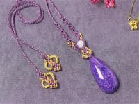 紫龙晶手镯戴时间长了会有什么变化?