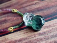 招财水晶如何挑选金发晶,如何挑选绿幽灵。