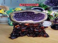 紫水晶洞价格多少钱一公斤?