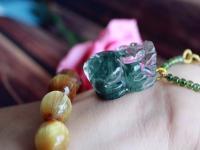 绿幽灵聚宝盆的功效与禁忌!墨绿和翠绿绿幽灵哪个好?