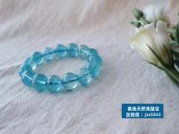 海蓝宝什么颜色最好?色深亮透重量大者为佳品!