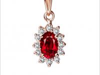 想知道纯天然红宝石吊坠价格是多少吗?我来告诉你!