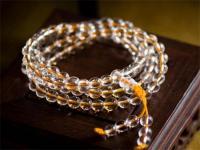 白水晶佛珠的佩戴禁忌和注意事项。
